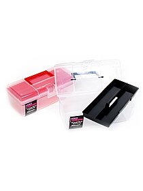 Stuff Management Medium Storage Box with Tray box with tray