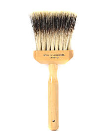 LW15 Faux Badger Softener Brush