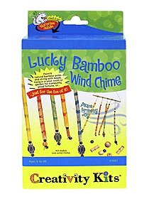 Lucky Bamboo Windchime Creativity Kit