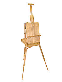 Elm Wood Weston Full French Easel