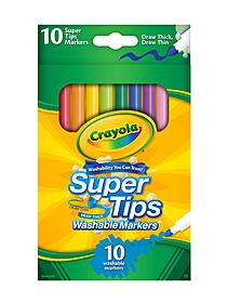 Super Tips Washable Markers