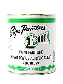 Speed Dry UV Acrylic Clear