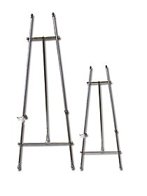 Antique Silver Floor Easels