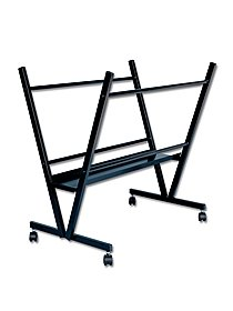 Black Steel Print Rack