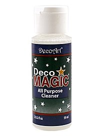 DecoMagic Brush and Jewelry Cleaner