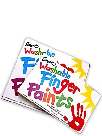 Washable Finger Paint Sets