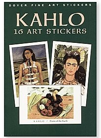 Kahlo: 16 Art Stickers