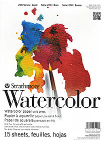 Student Art Watercolor Pads