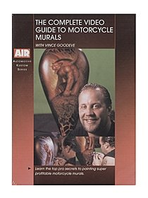 Vince Goodeve Complete Video Guide To Motorcycle Murals DVD