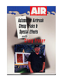 Automotive Airbrush Cheap Tricks & Special Effects DVD