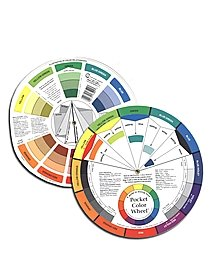 Mixing Guide color wheel mixing guide
