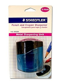 Pencil and Crayon Sharpener double sharpener
