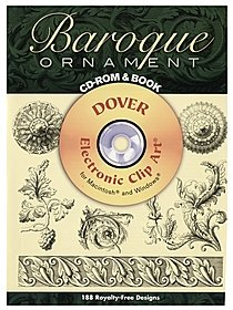 Baroque Ornament CD-ROM and Book