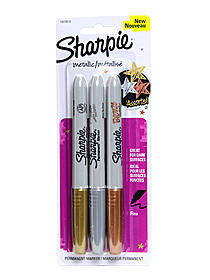 Metallic Fine Point Permanent Markers