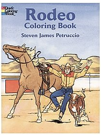 Rodeo Coloring Book Rodeo Coloring Book