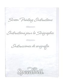 Screen Printing Instructions Booklet