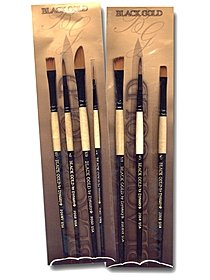 Black Gold Brush Sets