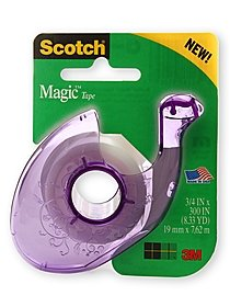 Scotch Gem Dispenser w/ Magic Tape
