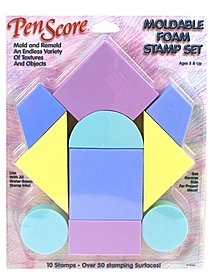 Magic Stamp Moldable Foam Stamp Set