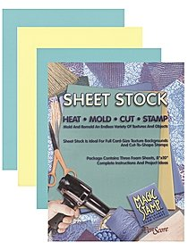 Magic Stamp Moldable Foam Stamp Sheet Stock