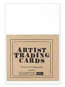 Blank Artist Trading Cards