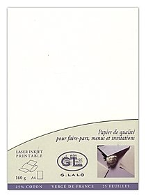 """Vergé de France"" Modern Invitation Stationery"