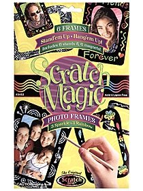 Scratch Magic Photo Frames Kit