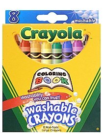 Coloring Book Washable Crayons