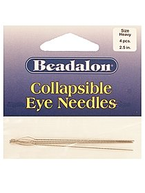 Collapsible Eye Needles