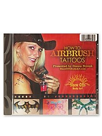 How to Airbrush Tattoos -- DVD