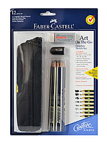 Art on the Go Graphite Pencil Drawing Set