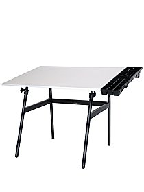 Berkeley Classic Pro Combos 30 in. x 42 in. black base with white top and shelf
