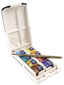 Cotman Water Colour Mini Plus Set