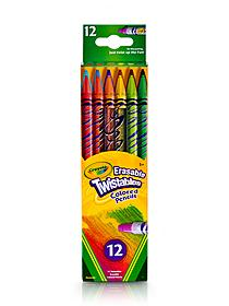 Erasable Twistables Colored Pencils