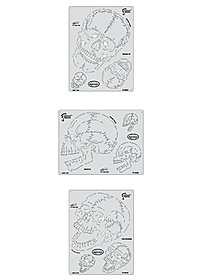 Horror of Skullmaster Mini Series Airbrush Templates