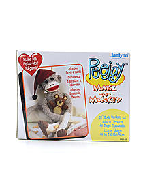 Peejay Sock Monkey Kit 21 in.