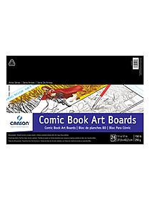 Fanboy Comic book art boards