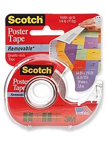 Image of Scotch Poster Tape Removable 3 4 in. x 150 in. roll