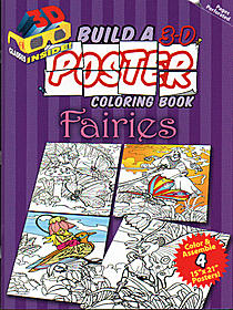 Build a 3-D Poster Coloring Book