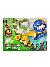 3D Painting Kit - Dinosaurs
