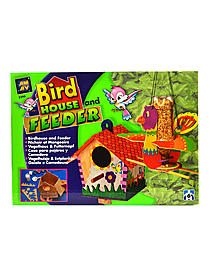 Bird House and Feeder Kit