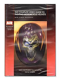 Vince Goodeve Complete Guide to Painting Motorcycle Helmets DVD
