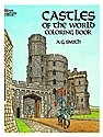 Castles of the World-Coloring Book