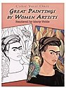 Color Your Own Great Paintings by Women Artists
