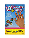 10 Pop-Art Rings Mini Kit