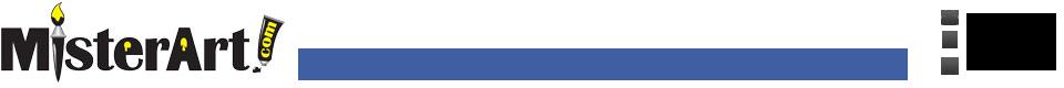 Misterart.com Print Logo
