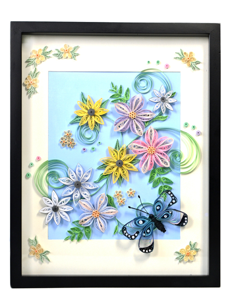Spiral your creativity with quilling craft idea for Paper quilling art projects