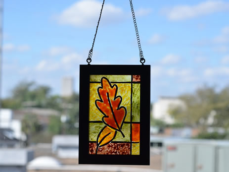 Make Your Own Stained Glass Frame, Craft Idea | MisterArt.com