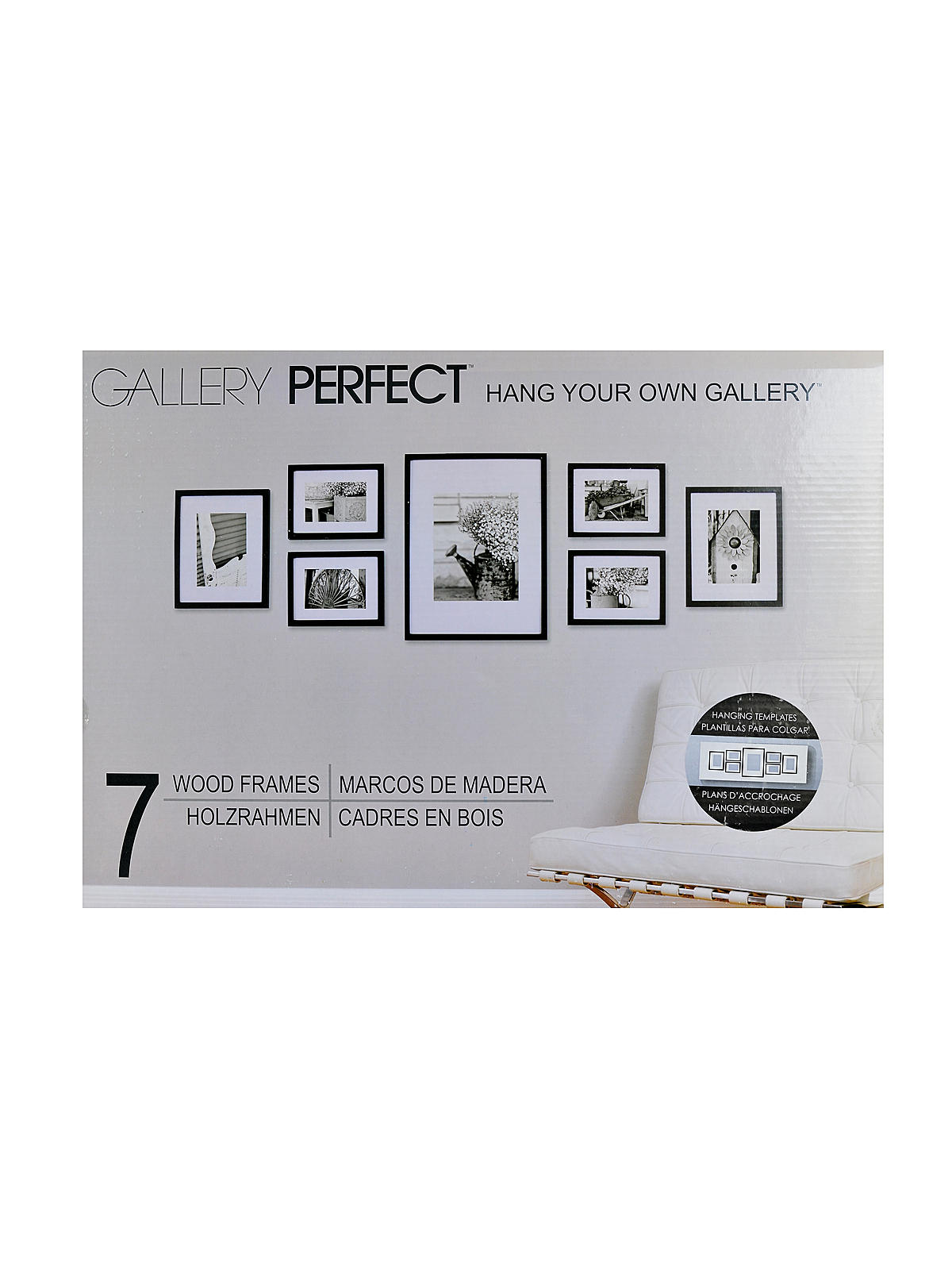 Pinnacle Frames & Accents Gallery Perfect 7 Piece Wall Kits ...