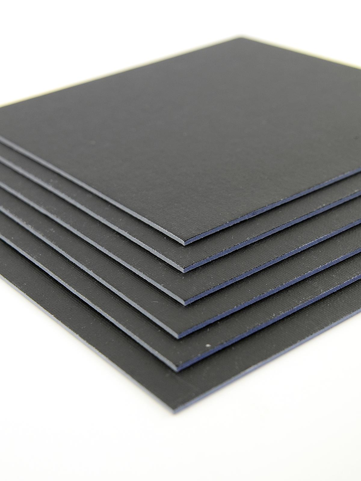 c2d4ad413fa Value Series Cut Edge Canvas Panels black 12 in. x 16 in. pack of